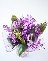 Bright Modern Orchid Vase