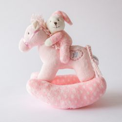 Musical Rocking Horse Pink