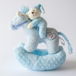 Musical Rocking Horse Blue